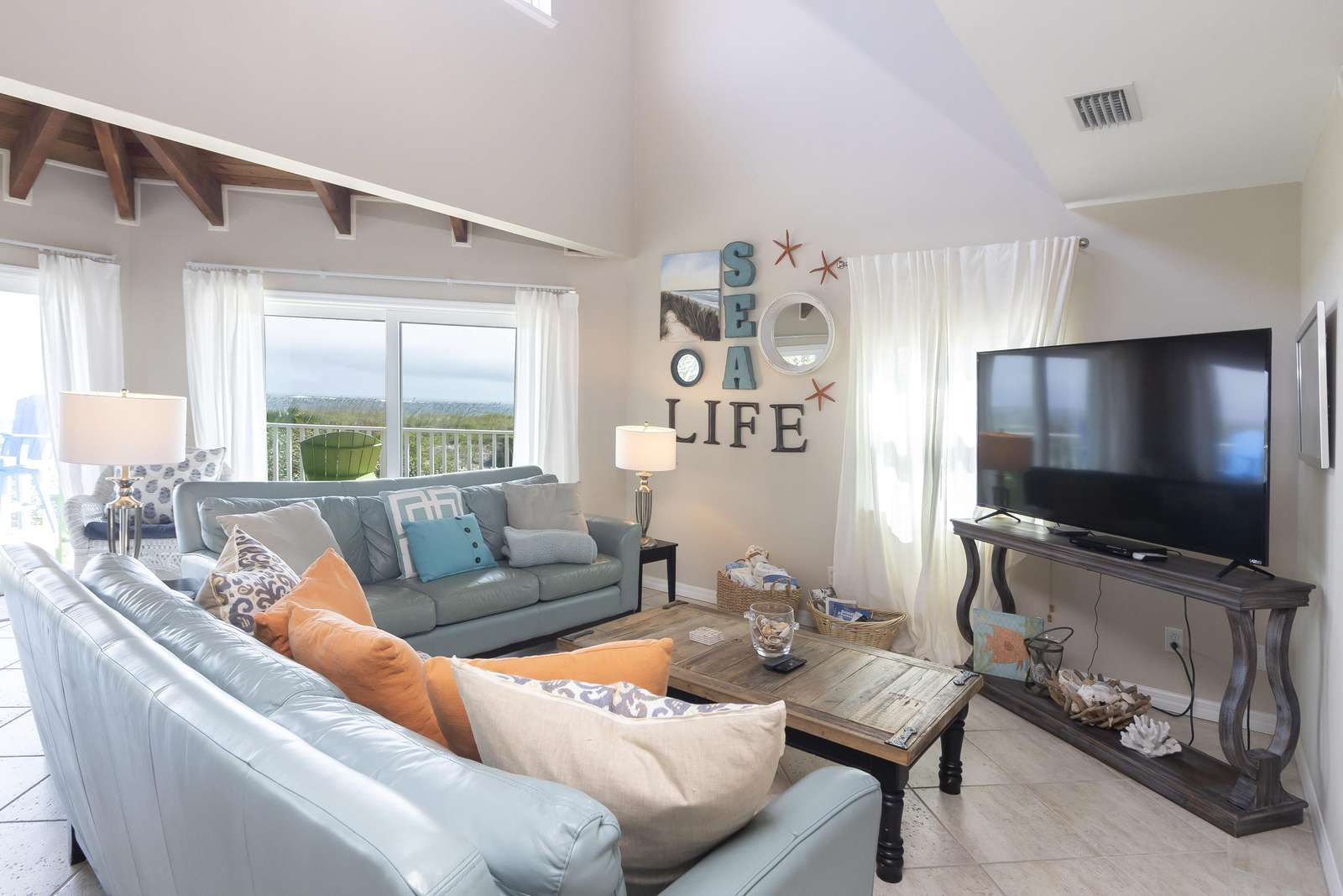 Ocean Sunrise - Family Room