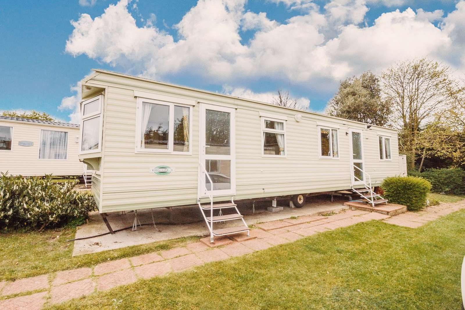 Caravan for hire in Norfolk near Great Yarmouth.
