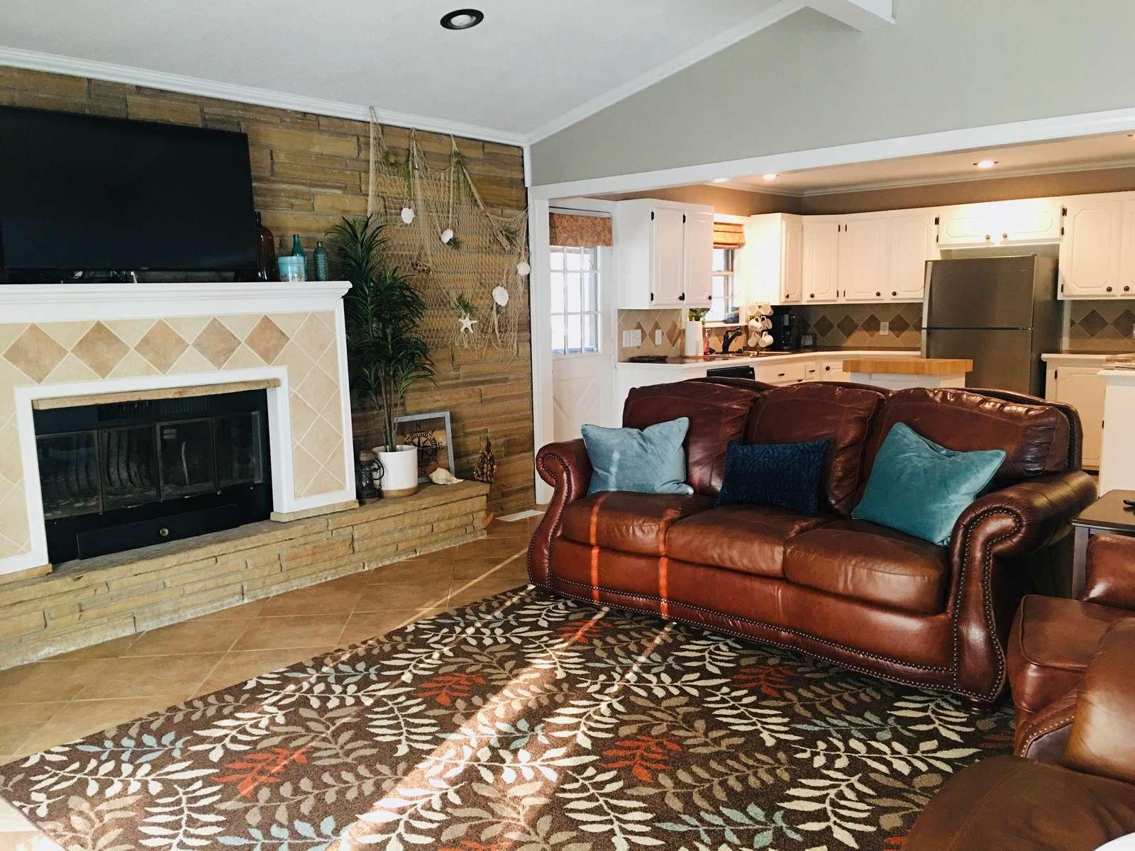 Open Floor Plan - Living Area