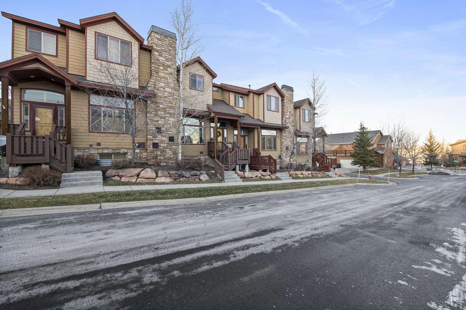Property nestled in Bear Hollow Village