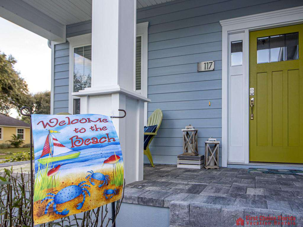 Seaside Retreat - Front Porch