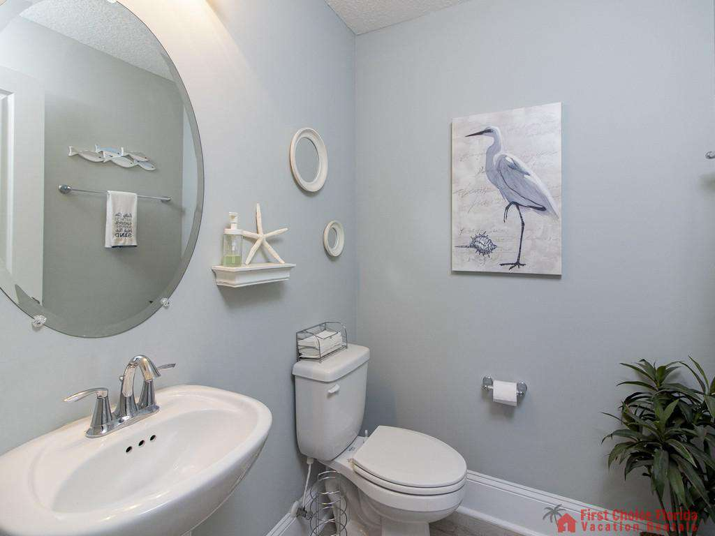 Seaside Retreat - First Floor Half Bath