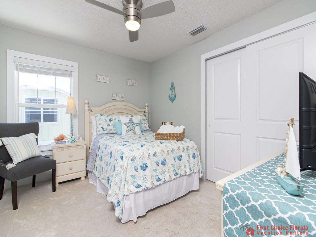 Seaside Retreat - Guest Bedroom