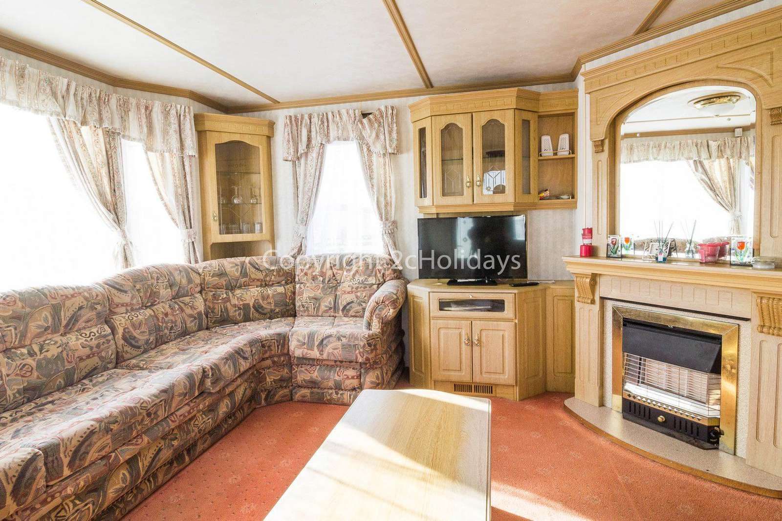 Caravan for hire in Scratby