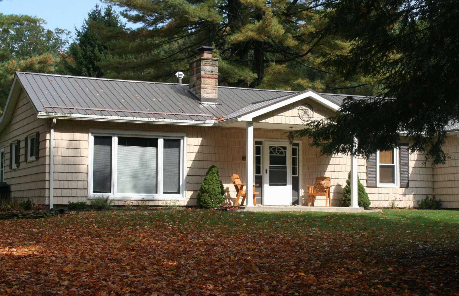 Fall - Sunset Maple Cabin - #6