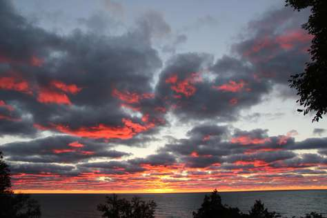 Reds & Gray Sunset