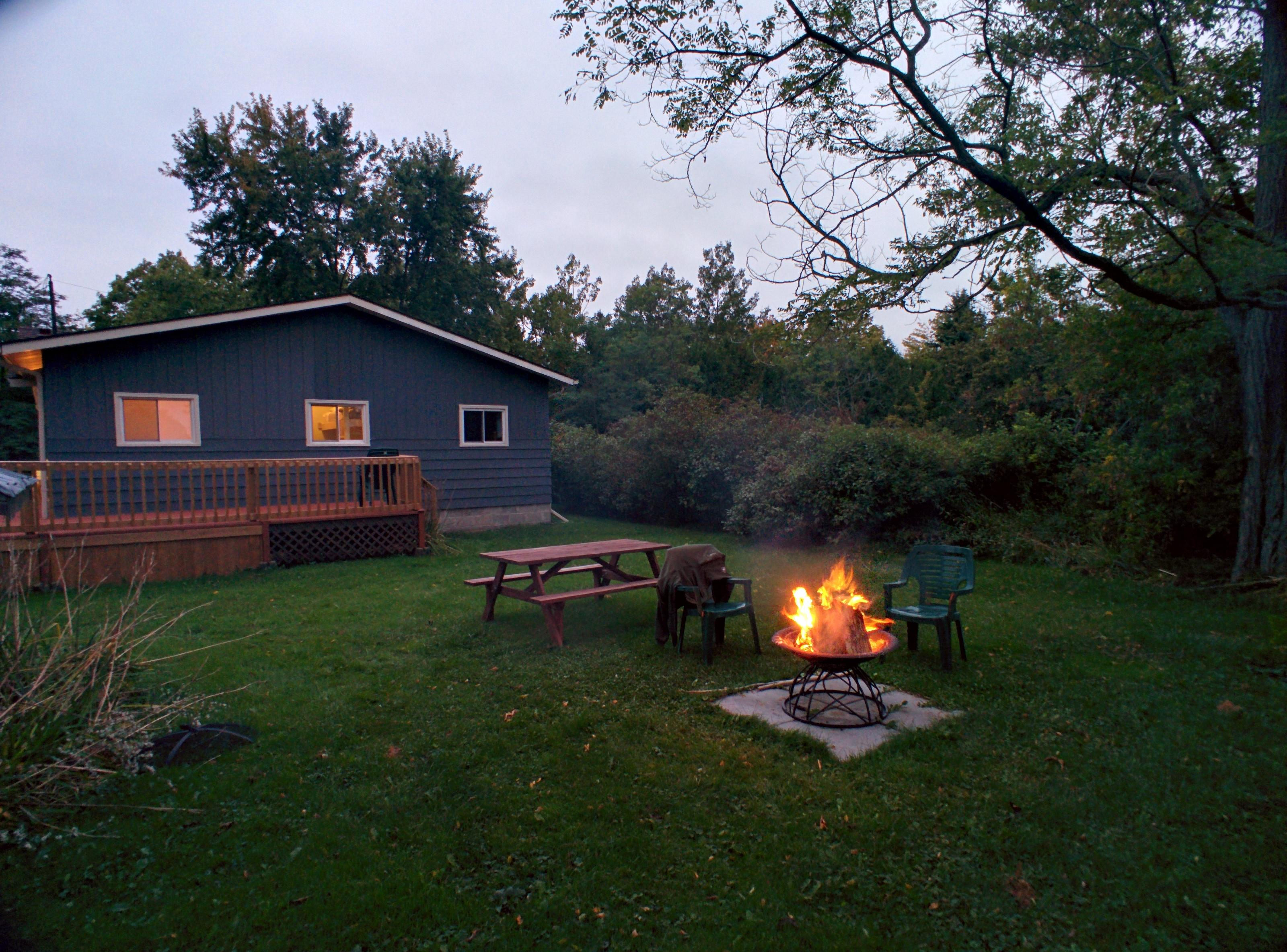 Marshmallow roasts and fireside conversation