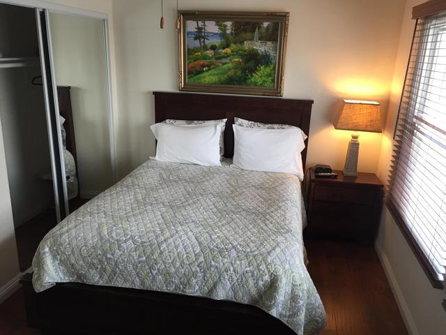 bedroom #2 w/queen size bed